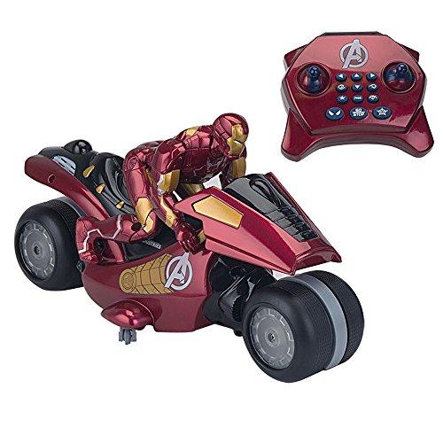 Avengers - 7893 - Voiture Radiocommandée - Moto Iron Man U-command - 30,5 cm