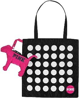Victorias Secret Pink Mini Dog & Packable Dot Convertible Tote Bag