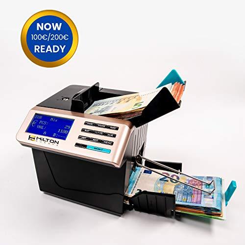 HILTON EUROPE HE-6100 actualizado a los nuevos billetes de 100 y 200€...
