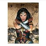Poster Wonder Woman Poster Gal Gadot Filmplakate Und Drucke