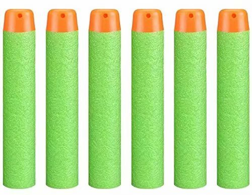BestMall Dartpfeile aus weichem Schaumstoff, Nachfüllpackung, Bullet 100, 7,2 cm, Nachfüllpack aus Schaumstoff für Nerf N-Strike Elite Mega Centurion, Kinder Spielzeug