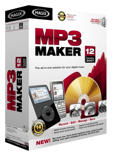 Magix MP3 Maker 12 (PC)