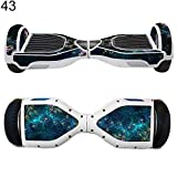 2Pcs Waterproof Anti Scratch Hover Board Protective Stickers for Balance Scooter