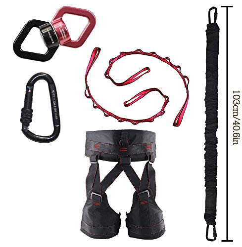 DASKING Bungee Cord Training Widerstand Bands Home Gym Yoga  Abbildung 3