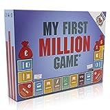 my first million game Gesellschaftsspiele für Erwachsene, Investitionsspiel Brettspiel mit Aktien, Immobilien und Startups, Gesellschaftsspiel Erwachsene ab 16 Jahren, deutsche Version
