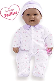 JC Toys, La Baby 16-inch Hispanic Washable Soft Baby Doll with Baby Doll Accessories - for Children 12 Months and Older, Designed by Berenguer