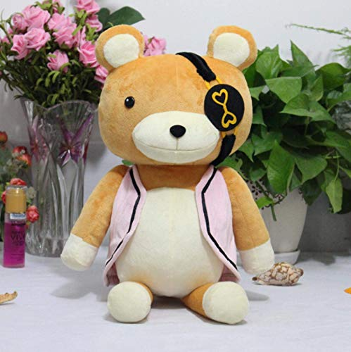 WYYHYPY Juguetes de peluche Diabolik Lovers Kanato Sakamaki Bear Plushie Hecho a Mano de Peluche Muñeca de Peluche Muñeca Cosplay Props 50cm Dedu Grandes Osos de peluche