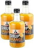 Sirup Royale mit Orange-Geschmack, 3x 0,5 Liter, PET-Flasche