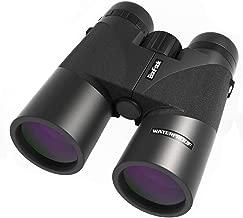 BonFook Binoculars for Adults,2019 New Compact 12x42 HD Professional IPX7 Waterproof/Fogproof,Folding Binoculars for Bird Watching,BAK4 Prism FMC Lens Clear WeaK Light Night Vision with Carrying Bag