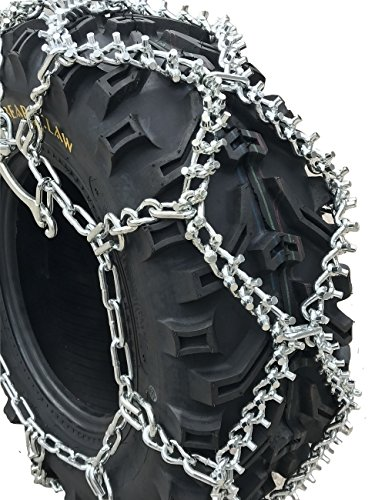 Find Bargain TireChain.com 22x10-10, 22 10 10 ATV UTV Stud Tire Chains, Spider Tightners