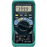Kyoritsu Kew 1009mutlimetro Digital para la tamaño de tensioni AC/DC, Corriente AC/DC, resistencia, continuidad, prueba diodo, Capacidad, Frecuencia, Gris