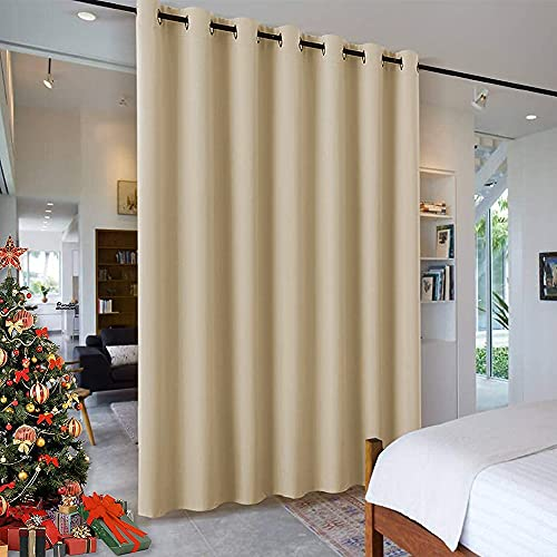 7 ft Tall x 8.3 ft Wide Wall Divider Curtain By RYB HOME