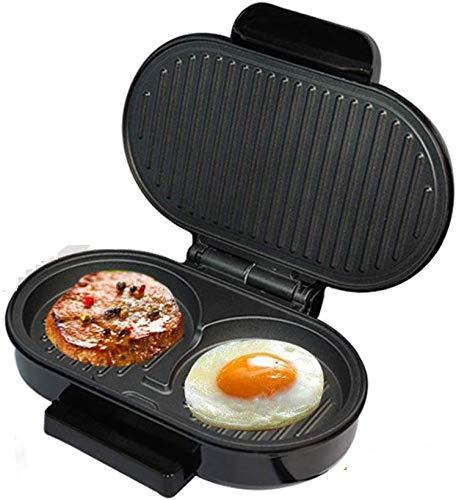 Zixin El Desayuno de la máquina, Mini Filete Hamburguesa Panini Grill Carne del asador máquina Huevo Sartén sandwichera Ciabatta Pan Horno