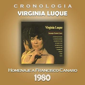 Virginia Luque Cronología - Homenaje a Francisco Canaro (1980)