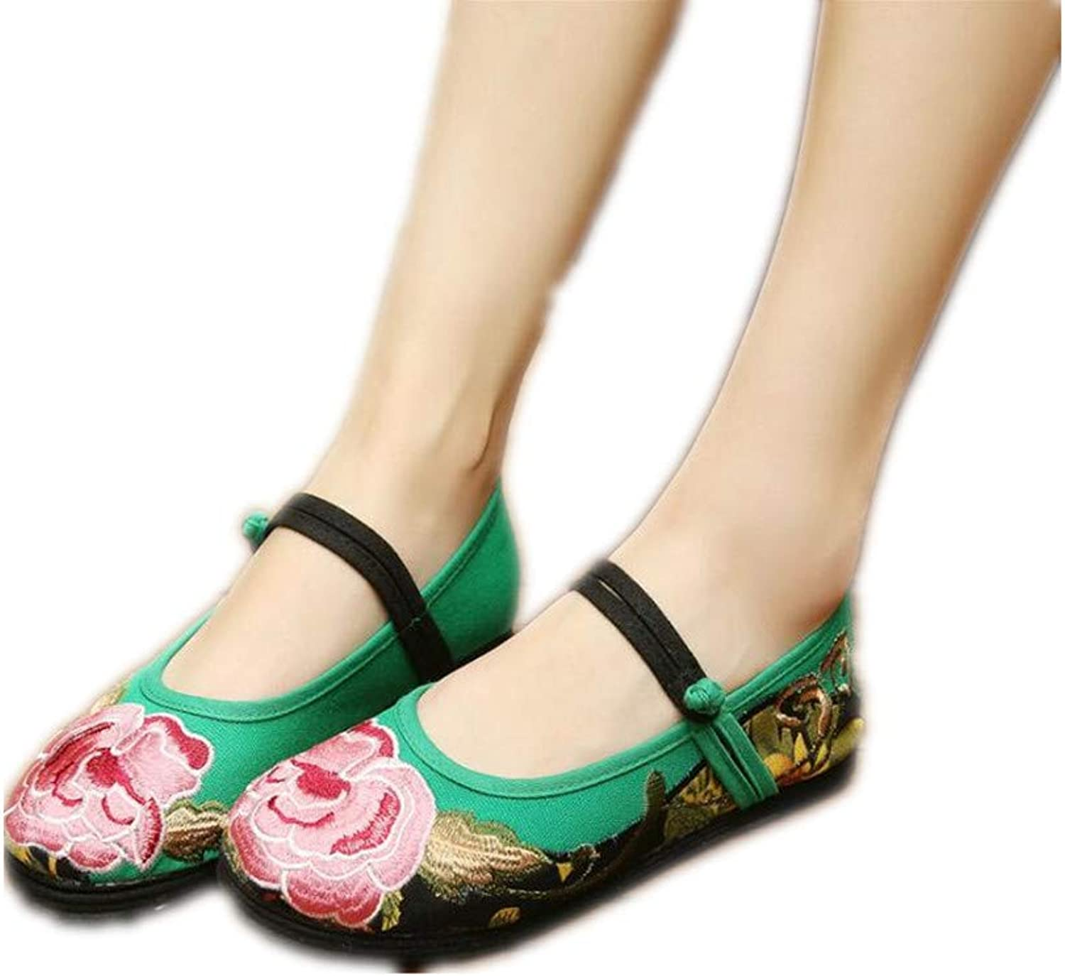 Gusha Women's Basic Casual shoes, Non-Slip shoes, Mary Jane shoes, Flat shoes