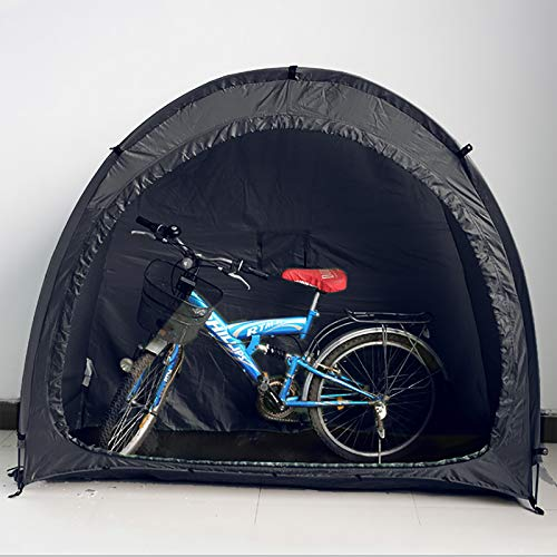 Cobertizo para bicicleta al aire libre, tienda de almacenamiento para jardín, cubierta para bicicleta, accesorios para bicicleta, diseño de ventana, accesorios de camping, tienda auxiliar impermeable
