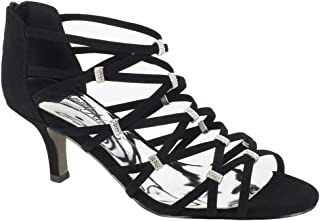 Best black strappy mid heel Reviews