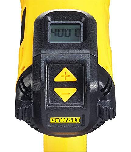 DEWALT D26414-QS - Decapador de 2.000W 50-600 °C con LED de temperaturas