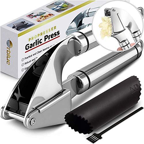 Orblue Pro Presser Stainless Steel Kitchen Garlic Press