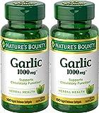 Nature's Bounty Garlic Extract 1000 mg...
