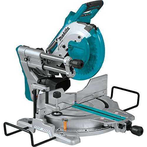 Makita XSL06Z 18V x2 LXT Lithium-Ion (36V) Brushless Cordless 10' Dual-Bevel Sliding Compound Miter Saw with Laser, TOOL Only