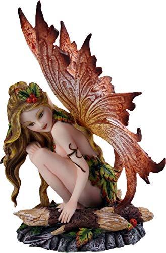 Nemesis Now Luenell - Figura Decorativa (17 cm), Color Naranja