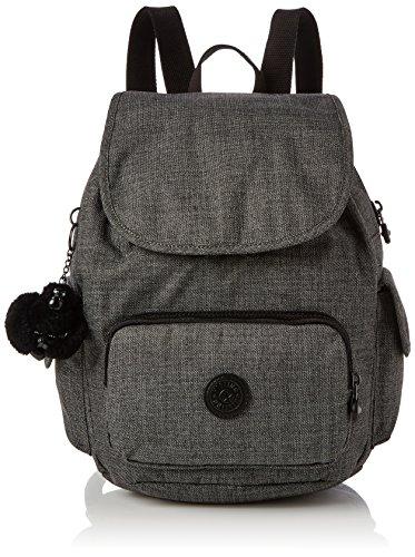 Kipling City Pack S Womens Backpack Grey Cotton Grey 32x37x19 cm B x H x T