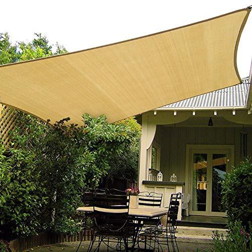 RUIXFLR tragbarHausbalkon Sonnenschutznetz, Sonnenschutz Im Innenhof, Sonnenschutz Im Freien, Dachterrasse Für Autoterrassen, SonnensegelLeicht