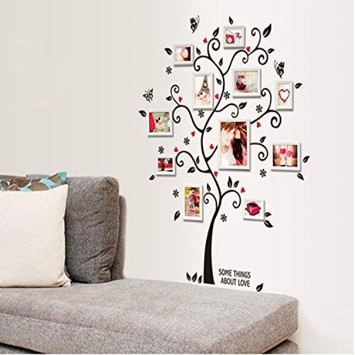 Alicemall Stickers PVC Muraux Autocollants Arbre pour Décoration de la Maison (Arbre 2)