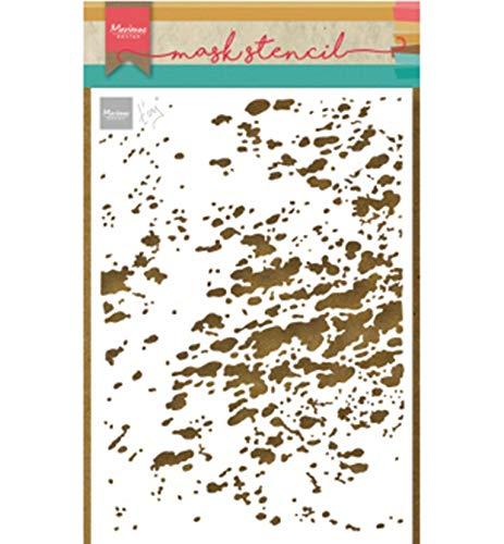 Marianne Design Kunst und handwerk Mask Schablone, Spritzen, für Scrapbooking, Kartengestaltun und Papierbasteln