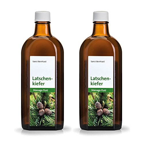 Sanct Bernhard Latschenkiefer Massage-Fluid, Inhalt 2 x 250 ml