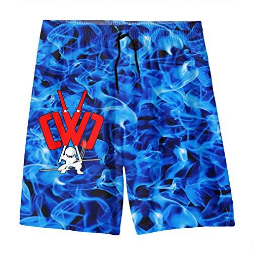 Cwc Chad Wild Clay Swim Trunks Boys Quick Dry Beachwear Sports Running Boardshorts M