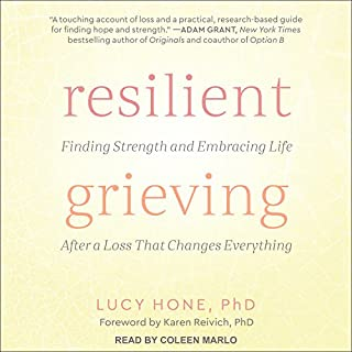 Resilient Grieving audiobook cover art