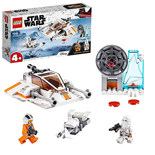 LEGO Star Wars 75268 4+ Snowspeeder, Verteidigungsstation und Speeder Bike