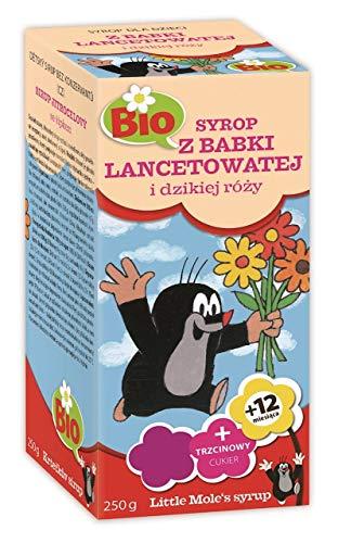 Sirup für Kinder mit Wegerich und Wildrose BIO 250 g - Apotheke (little mole)