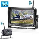 LeeKooLuu 1080P Digital Wireless Backup Camera 7' High-Speed Observation DVR...