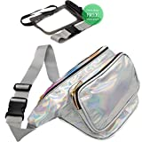 RedOrbis Fanny Packs for Women with Extender - Plus Waterproof Phone Pouch - Plus Size Adjustable Belt - Hiking, Travel, Festival
