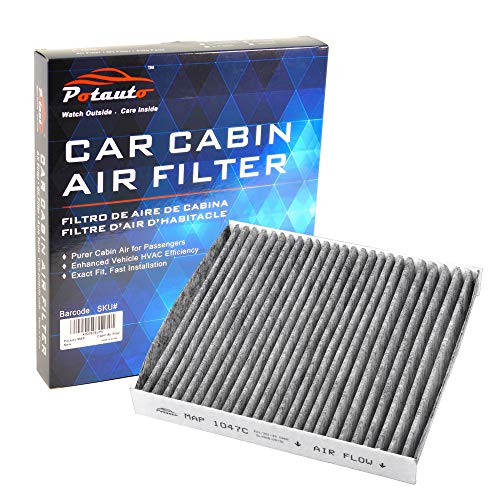 POTAUTO MAP 1047C (CF8249A) Activated Carbon Car Cabin Air Filter Compatible Aftermarket Replacement Part