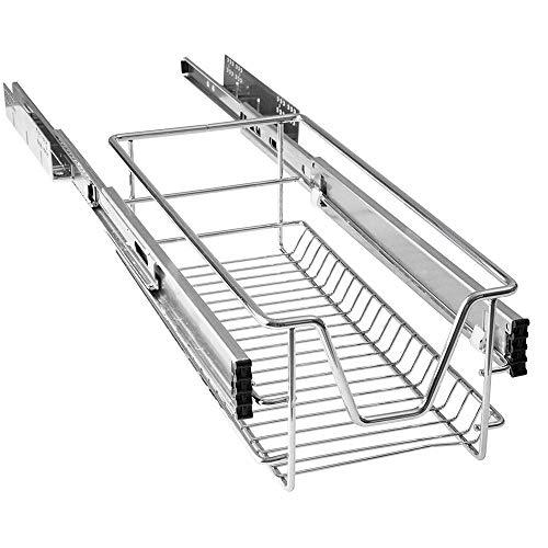 HENGMEI Cajón Armario cajón extraíble cajón de Cocina Estante Estantería de Cocina Cesta auszug Dormitorio cajón, 30 cm