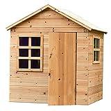 Evermeadow Wooden Playhouse | Garden Games | 51' H x 41' W x 38' D (Playhouse with Floor)