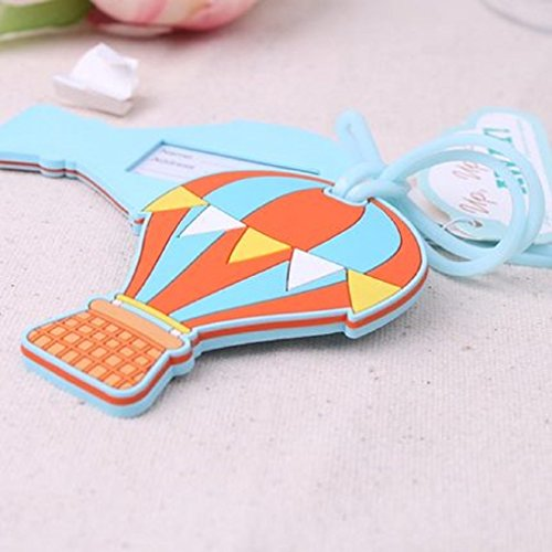 """Wedding/Special Occasion """"Hot Air Balloon"""" Luggage Tag/Favors"""