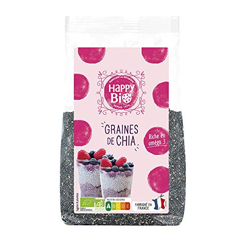 Happy Bio Graines de Chia Bio 250 g