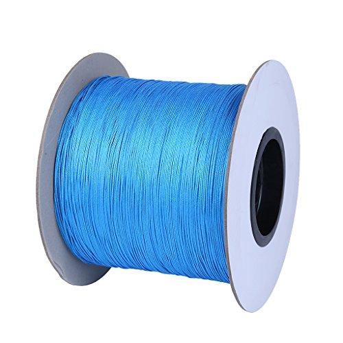Sharplace Corde De Grimpeur Résistant à La Corrosion Corde De Traction pour Tente Escalade Grimpe - Bleu, 15 m