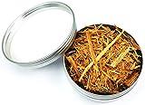 mumba Anzünd-Hilfe Zunder Outdoor für Magnesium-Feuerstarter, Kienspänesplitter in Dose, organisch und 100% natürlich für Brennholz (30g Kienspänesplitter in Dose)