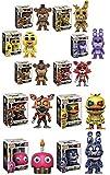 Funko POP! Video Game Mystery - Pack de 6 figuras de vinilo estilizadas, aleatorias...