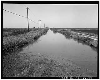 HistoricalFindings Photo: Reclamation District 1000,Highway No. 99,Sacramento,California,CA,HABS,24