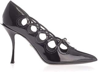DOLCE E GABBANA Luxury Fashion Womens CD1438A103780999 Black Pumps | Fall Winter 19
