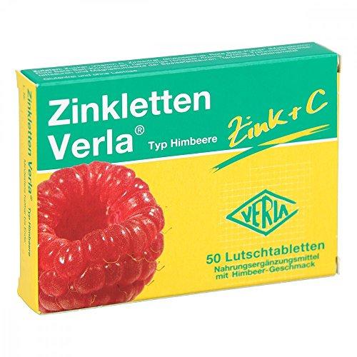 Zinkletten Verla Typ Himbeere Tabletten, 50 St. Tabletten