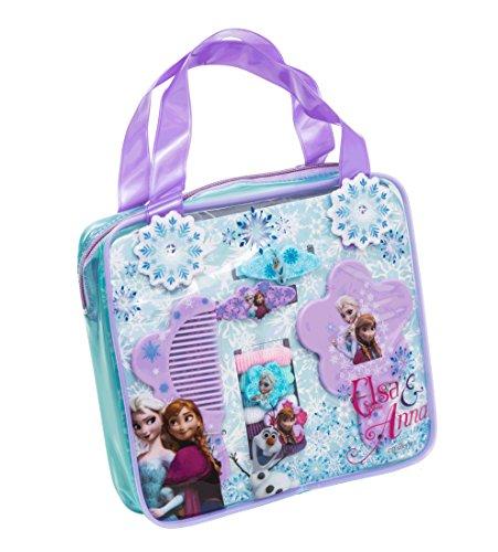Joy Toy - 755042 - Set accessoires cheveux - Disney Frozen - sac à dos