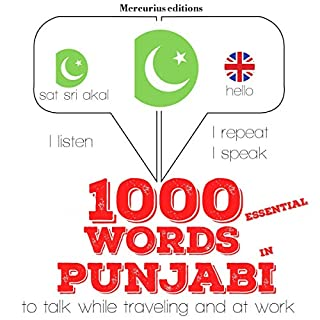 1000 essential words in Punjabi cover art